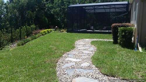 Flagstone Walkway Design Ideas | Stepping Stone Pathway Installaton