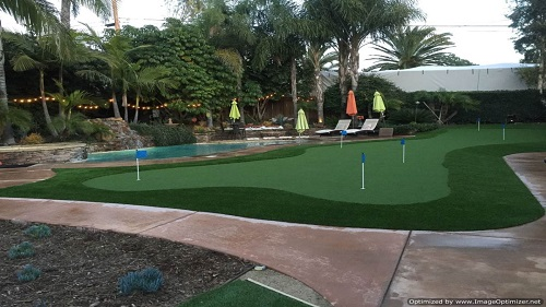 Synthethis Turf Putting Green Installers