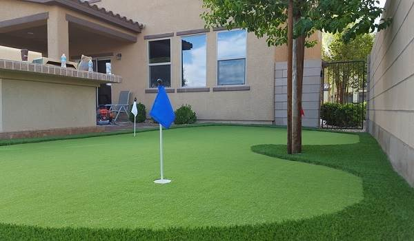 fake putting green course installers