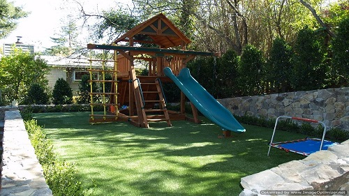 synthetic playground grass service orlando