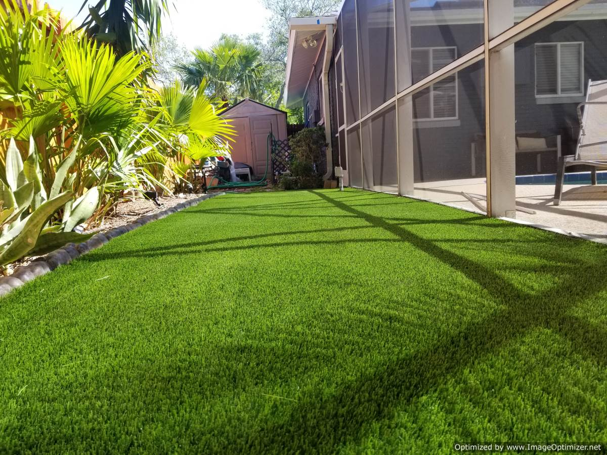 Artificial Pet Turf Installation Service Kissimmee - Synthetic Pet Grass Installers Kissimmee - From The Ground Up